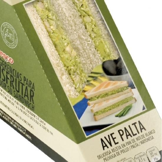 sandwich miga fresco